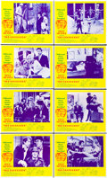 "Movie Posters:Comedy, The Producers (Embassy, 1967). Lobby Card Set of 8 (11"" X 14"")..... (Total: 8 Items)"