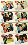 "Movie Posters:Science Fiction, The Blob (Paramount, 1958). Lobby Card Set of 8 (11"" X 14"").. ...(Total: 8 Items)"