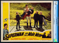 "Movie Posters:Action, Superman and the Mole Men (Lippert, 1951). CGC Graded Lobby Card(11"" X 14"").. ..."