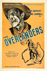 """The Overlanders (Eagle Lion, 1946). British One Sheet (27"""" X 40"""")"""