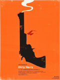"Movie Posters:Crime, Dirty Harry (Alamo Drafthouse, R-2010). Limited Edition Print (18""X 14"").. ..."