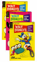 Bronze Age (1970-1979):Cartoon Character, Walt Disney's Comics and Stories Group File Copies (Gold Key,1973-79) Condition: Average NM.... (Total: 10 Comic Books)