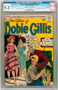 The Many Loves of Dobie Gillis #6 Savannah pedigree (DC, 1961) CGC NM- 9.2 Cream to off-white pages