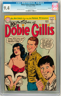 The Many Loves of Dobie Gillis #9 Savannah pedigree (DC, 1961) CGC NM 9.4 Cream to off-white pages