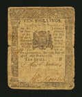 Colonial Notes:Pennsylvania, Pennsylvania April 25, 1776 10s Fine.. ...