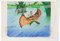 Garth Williams. Original watercolor and preliminary artwork and layout materials for dust jacket of