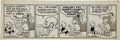 Original Comic Art:Comic Strip Art, Al Smith Mutt and Jeff Daily Comic Strip Original Art dated 7-22-67 (Bell-McClure Syndicate, 1967)....