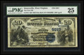 National Bank Notes:West Virginia, Sistersville, WV - $20 1882 Date Back Fr. 552 The First NB Ch. #(S)5027. ...