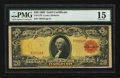 Large Size:Gold Certificates, Fr. 1179 $20 1905 Gold Certificate PMG Choice Fine 15.. ...