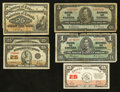 Canadian Currency: , Mixed Lot of Circulated Canadian Notes.. ... (Total: 7 notes)