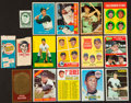 Baseball Cards:Lots, 1960 Through 1973 Topps Type Card Collection (130)....