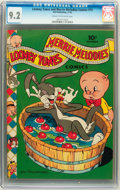 Golden Age (1938-1955):Cartoon Character, Looney Tunes and Merrie Melodies Comics #13 (Dell, 1942) CGC NM-9.2 Cream to off-white pages....