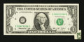 Error Notes:Foldovers, Fr. 1908-C $1 1974 Federal Reserve Note. Very Fine.. ...