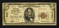 National Bank Notes:Missouri, King City, MO - $5 1929 Ty. 1 The Citizens NB Ch. # 6383. ...