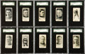 Hockey Cards:Lots, 1923-24 Paulin's Candy SGC-Graded Collection (10). ...