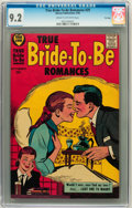 Silver Age (1956-1969):Romance, True Bride-to-Be Romances #29 File Copy (Harvey, 1958) CGC NM- 9.2Cream to off-white pages....