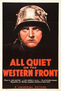"Movie Posters:Academy Award Winners, All Quiet on the Western Front (Universal, R-1938). One Sheet (27""X 41"").. ..."