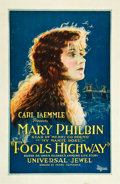 "Movie Posters:Drama, Fool's Highway (Universal, 1924). One Sheet (27"" X 41"").. ..."