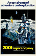 "Movie Posters:Science Fiction, 2001: A Space Odyssey (MGM, 1968). One Sheet (27"" X 41""). Style B....."