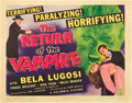 "Movie Posters:Horror, The Return of the Vampire (Columbia, 1943). Title Lobby Card (11"" X14"").. ..."
