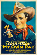 "Movie Posters:Western, My Own Pal (Fox, 1926). One Sheet (27"" X 41""). Portrait Style.. ..."