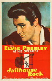 "Jailhouse Rock (MGM, 1957). One Sheet (27"" X 41"")"