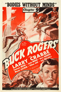 """Buck Rogers (Universal, 1939). One Sheet (27"""" X 41""""). Chapter 9--""""Bodies Without Minds."""""""