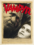 "Movie Posters:Horror, Vampyr (Vereinigte Star Films, 1932). Original Poster ConceptArtwork by Erik Aaes (6.5"" X 8.75"") .. ..."