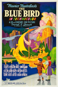 "The Blue Bird (20th Century Fox, 1940). One Sheet (27"" X 41""). Style A"