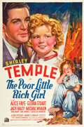 "Movie Posters:Musical, The Poor Little Rich Girl (20th Century Fox, 1936). One Sheet (27""X 41""). Style A.. ..."