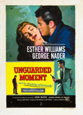 "Movie Posters:Drama, The Unguarded Moment (Universal International, 1956). Reynold Brown Original One Sheet Artwork in Gouache (17.5"" X 25"").. ..."