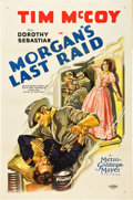 "Movie Posters:War, Morgan's Last Raid (MGM, 1929). One Sheet (27"" X 41"").. ..."