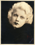 """Movie Posters:Miscellaneous, Jean Harlow by Mitchell Studios (1932). Portrait Photo (11"""" X14"""").. ..."""