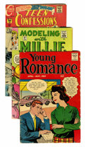 Silver Age (1956-1969):Romance, Miscellaneous Golden/Silver Age Romance Group (Various Publishers,1950s-60s) Condition: Average GD.... (Total: 19 Comic Books)