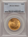 Indian Eagles, 1914 $10 MS62+ PCGS. PCGS Population (501/496). NGC Census:(560/439). Mintage: 151,050. Numismedia Wsl. Price for problem ...