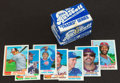 Baseball Cards:Sets, 1982 Topps Traded Complete Set With Ripken Rookie (132). ...