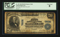 National Bank Notes:Kentucky, Horse Cave, KY - $20 1902 Plain Back Fr. 650 The First NB Ch. #7602. ...