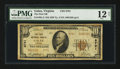 National Bank Notes:Virginia, Galax, VA - $10 1929 Ty. 2 The First NB Ch. # 8791. ...