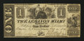 Obsoletes By State:Ohio, Lebanon, OH- Lebanon Miami Banking Co. $1 Oct. 30, 1841. ...