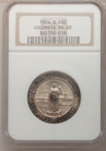 Commemorative Silver: , 1936-S 50C Columbia MS65 NGC. NGC Census: (513/706). PCGSPopulation (670/541). Mintage: 8,007. Numismedia Wsl. Price forp...