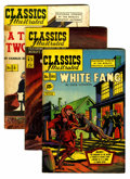Golden Age (1938-1955):Classics Illustrated, Classics Illustrated Group (Gilberton, 1946-51).... (Total: 31Comic Books)
