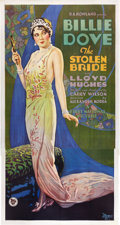 "Movie Posters:Drama, The Stolen Bride (First National, 1927). Three Sheet (41"" X 81"")....."