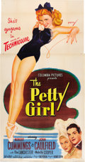 "Movie Posters:Comedy, The Petty Girl (Columbia, 1950). Three Sheet (41"" X 81"").. ..."