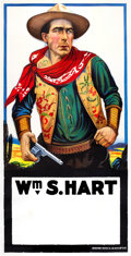 """Movie Posters:Western, William S. Hart Stock Poster (United Artists, R-1920s). Three Sheet(41"""" X 81"""").. ..."""