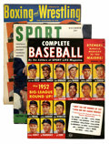Magazines:Miscellaneous, Miscellaneous Vintage Baseball/Sports Magazines Group (VariousPublishers, 1960s) Condition: Average GD.... (Total: 15 ComicBooks)