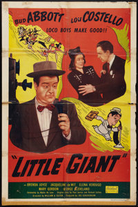"Little Giant (Realart, R-1951). One Sheet (27"" X 41""). Comedy"