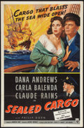 "Movie Posters:War, Sealed Cargo (RKO, 1951). One Sheet (27"" X 41""). War.. ..."