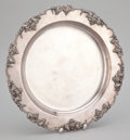Silver Flatware, American:Other , A SILVER PLATED TRAY. E. G. Webster & Son, Brooklyn, New York,circa 1890. Marks: (fleur de lis-crown-lion standing). 14 inc...