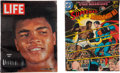 Boxing Cards:General, 1964 Life magazine and 1978 Marvel Comic Featuring Muhammad Ali....