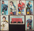 Hockey Cards:Lots, 1971-72 O-Pee-Chee Hockey Posters Group of (7 Different). ...
